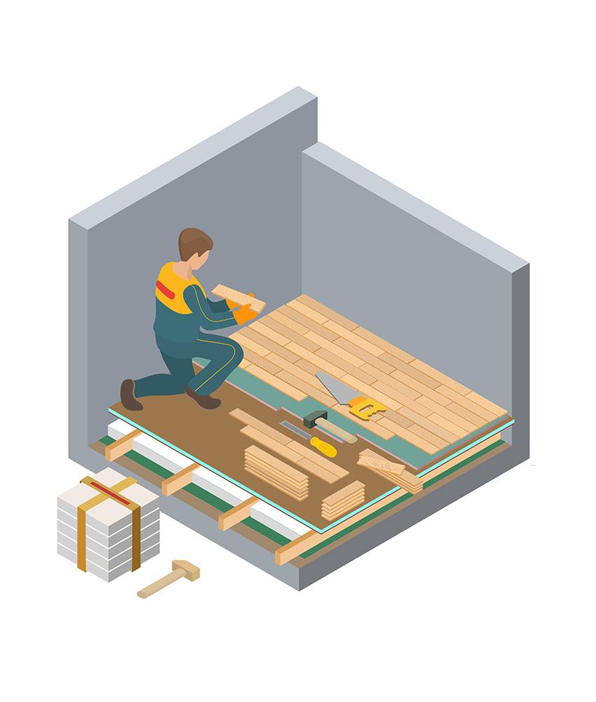Vagus Haustechnik - Bodenarbeiten